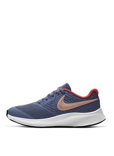 Nike Nike Lila Yürüyüş Ayakkabısı Mavi